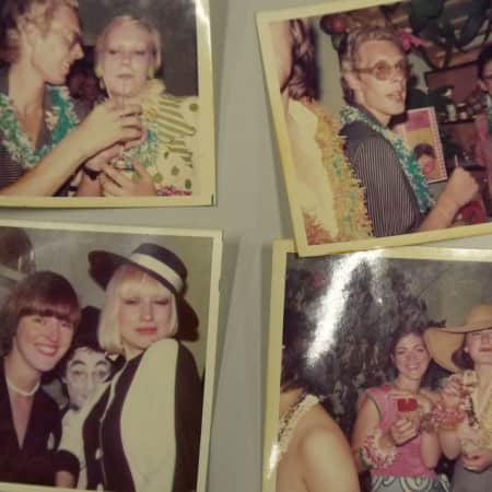 1973 Graduation party photos