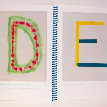 Particitype - Oliver Boulton and Samuel Jones - BA Graphic Design