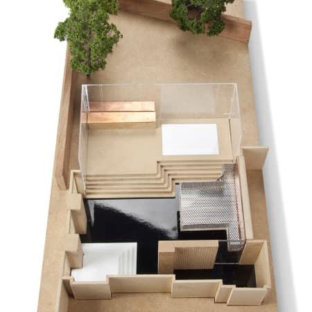 Model by Anna Mackie - Graduate Diploma Interior Design