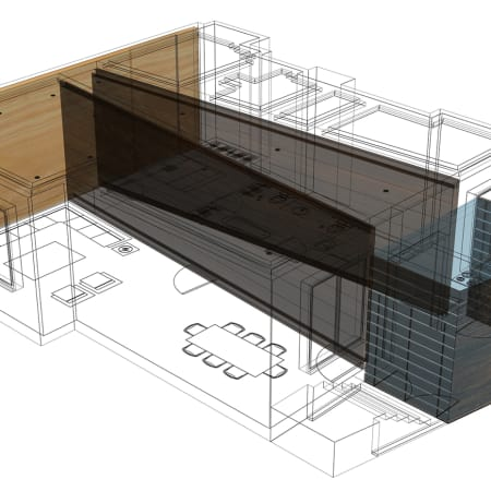 Computer generated model by Sara Alrashed - Graduate Diploma Interior Design