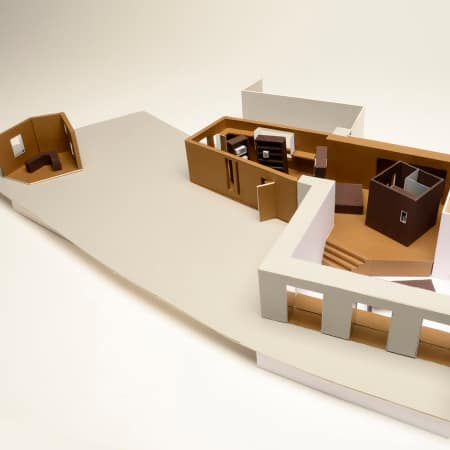 Model by Victoria Lin - Graduate Diploma Interior Design