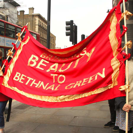 Bringing Beauty to Bethnal Green banner by Jessica Hadwin - BA Interior and Spatial Design.