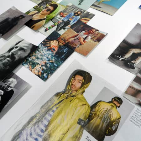 Mood boards created during Designing Pop Up Shops and Events short course
