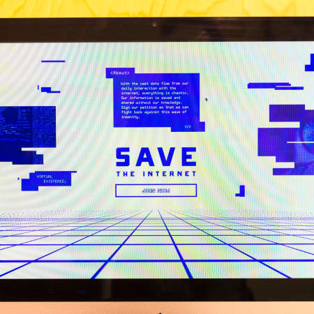 Melissa Zee | Save The Internet – BA Graphic Design, 2016