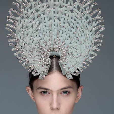 Ruiyin Lin - Swarovski headpiece