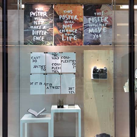 Graphic Communication Design window display