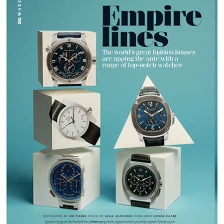 GQ watches by Esther Ellard