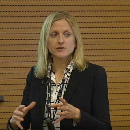 Co-Course Leader Charlotte Bonham Carter leading open day lecture