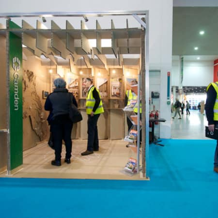 The Camden pavilion at Ecobuild.