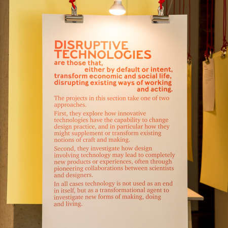 Image from London Design Festival Exhibition