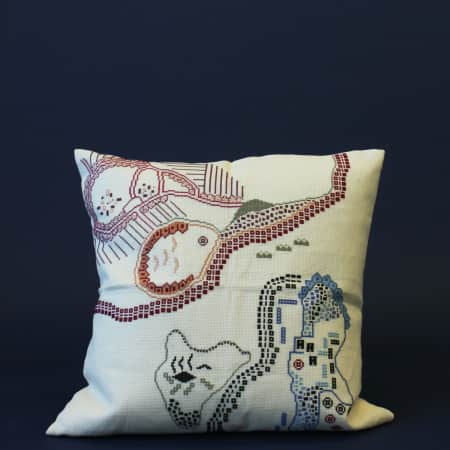 Cushion by Nadia Wire Albrechtsen and Wafaa Mohamed