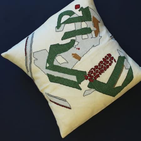 Cushion by Valentine Genelot and Fatima Farajjalah