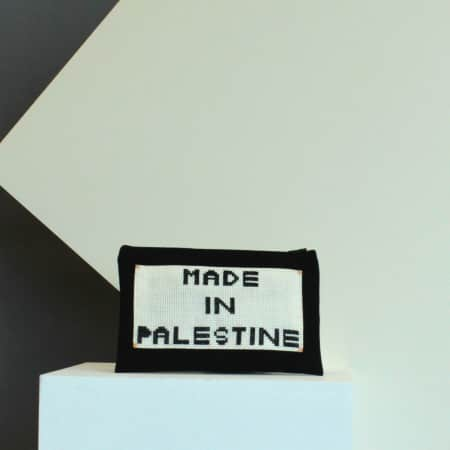 Made in Palestine bag, Helen Milne and Ezdehar Mater, 2017