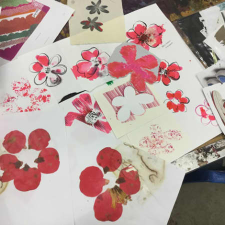 Drawing and Painting for Textile Design