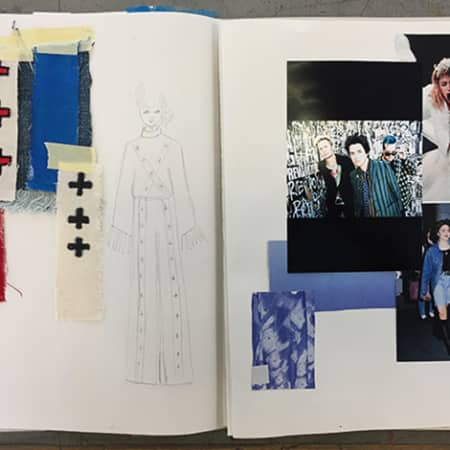 Fashion Sketchbook for 16 to 18 Year Olds