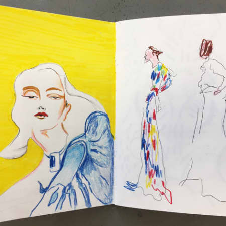 Creating a Fashion Sketchbook