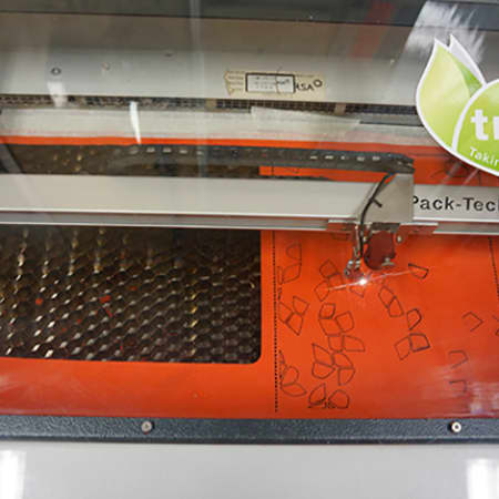 Laser Cutting for Textile Design