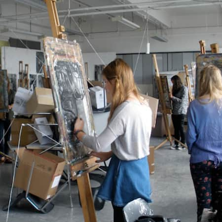Art and Design Workshops for 16 to 18 Year Olds