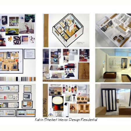 Interior design residential