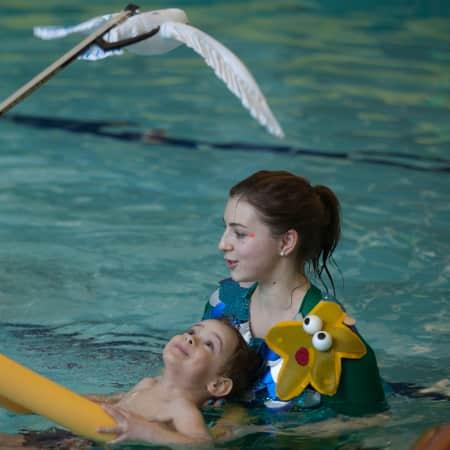 Teaching Swimming Curriculum Through Immersive Theatre - by Lori Gargani (BA Performance Design & Practice)