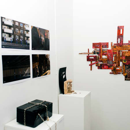 Final year show - Box Clever - Image by Errin Yesilkaya