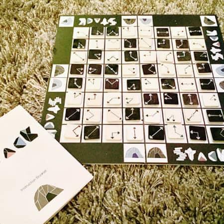 Tesh Samuel Stack boardgame