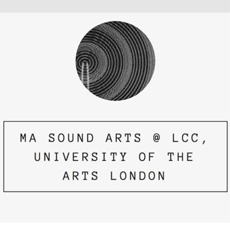 MA Sound Arts Tumblr