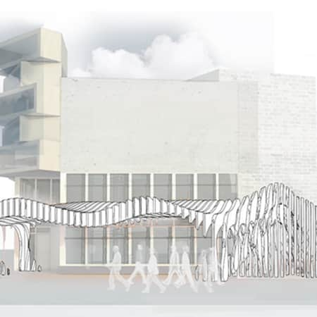 Image of student work by Joanna Sawicka, Angelika Wresinska and Yingru Liang, BA Design for Branded Spaces, LCC