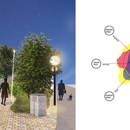Image of student work by Kajsa Lilja, BA Design for Branded Spaces, LCC