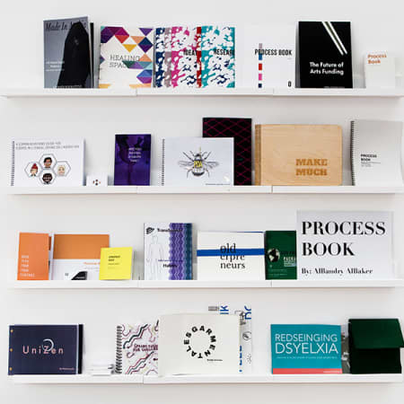 A selection of student-designed publications.