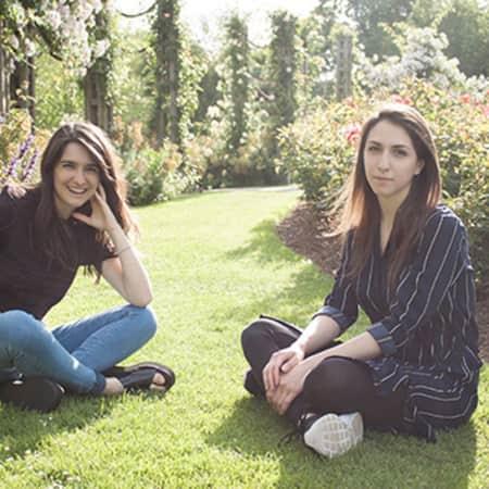 Image of alumni, Angela Cannavo and Nadia Conti