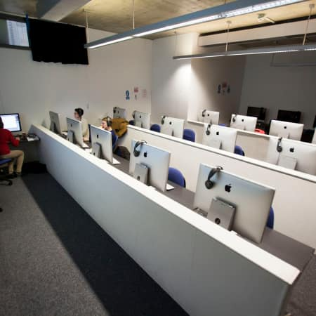Video Editing Teaching Room