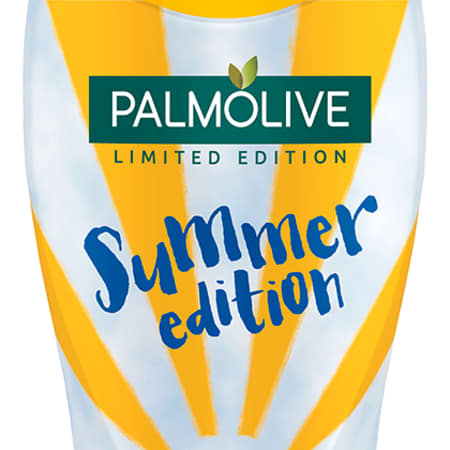 Design for Colgate Palmolive limited edition shower gel