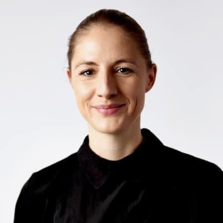 Portrait photograph of Dr Helga Schmid