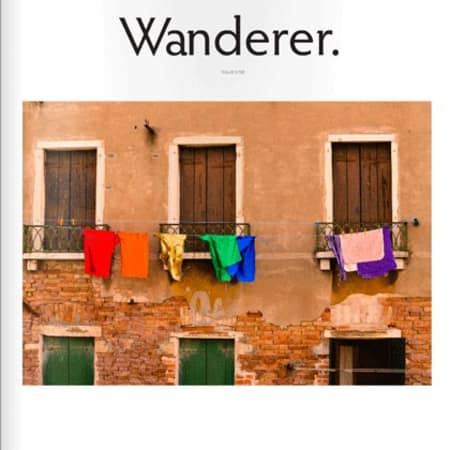 Wanderer magazine front cover