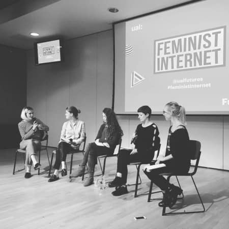 Panel discussion with UAL Feminist Internet