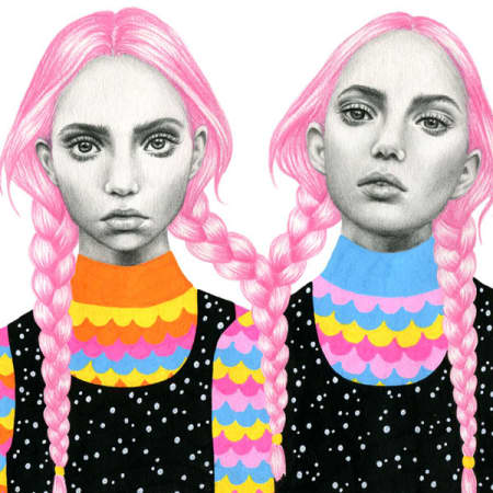 Colourful illustration by graduate Emily Brinkley