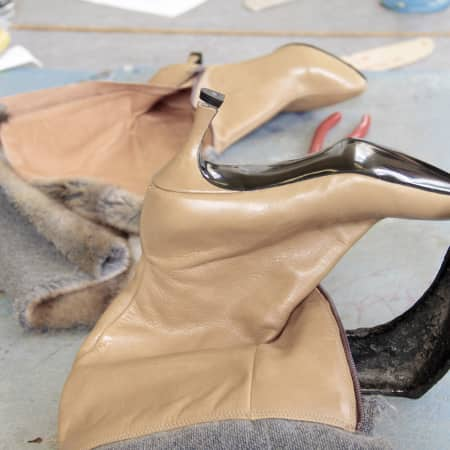 Image of student's work in Shoe making: the boot short course