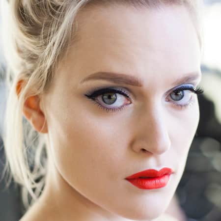 Example look: 40s glamour make-up