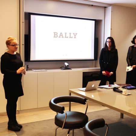 Students present to Bally