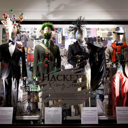 Hackett windows by LCF students
