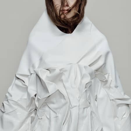 Gayane Arzumanova, BA Fashion Design Technology: Womenswear, Beth Wilson, BA Fashion Textiles: Embroidery.