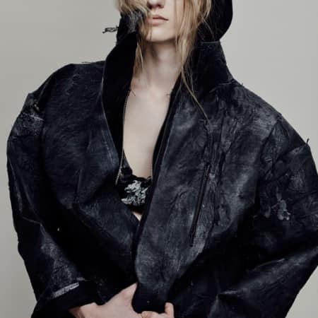 Joanna Berling, BA (Hons) Fashion Design Technology: Womenswear; Jade Gellard, BA (Hons) Fashion Contour.