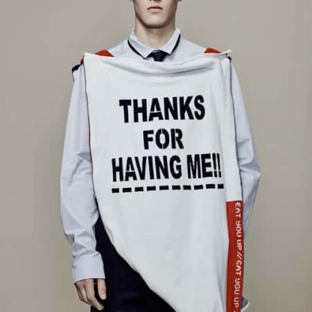 Wei Yao Lin, BA (Hons) Fashion Design Technology: Menswear; Cheng Qian; BA (Hons) Fashion Textiles: Knit.