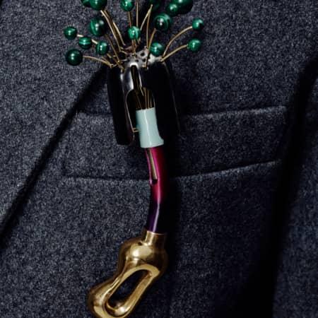 Brooch by Andrea Tan, BA (Hons) Fashion Jewellery.
