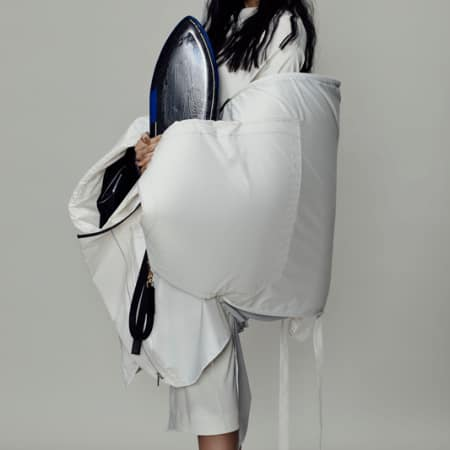 Zaiga Brutane, BA Fashion Design Technology: Womenswear; Joseph Mangan, BA Cordwainers Fashion Bags and Accessories: Product Design and Innovation; Tsun Cheung Lai, BA Bespoke Tailoring; Caroline Klemp, BA Cordwainers Footwear: Product Design and Innovation.