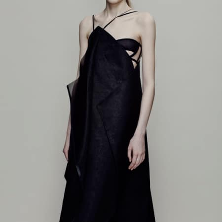 Hyone Chi, BA (Hons) Fashion Design Technology: Womenswear; Flora Murray, BA (Hons) Fashion Contour