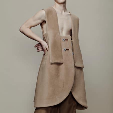 Neil Xuhao, BA (Hons) Bespoke Tailoring; Jessica Jasmine, BA (Hons) Fashion Textiles: Embroidery.