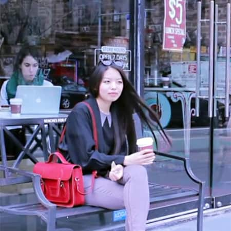 Jielin Hu in New York
