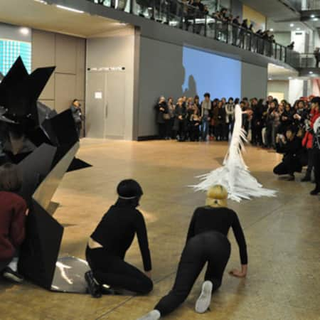 Curating Carnival Event at Central Saint Martins 2015 (Photographer Gareth Johnson)
